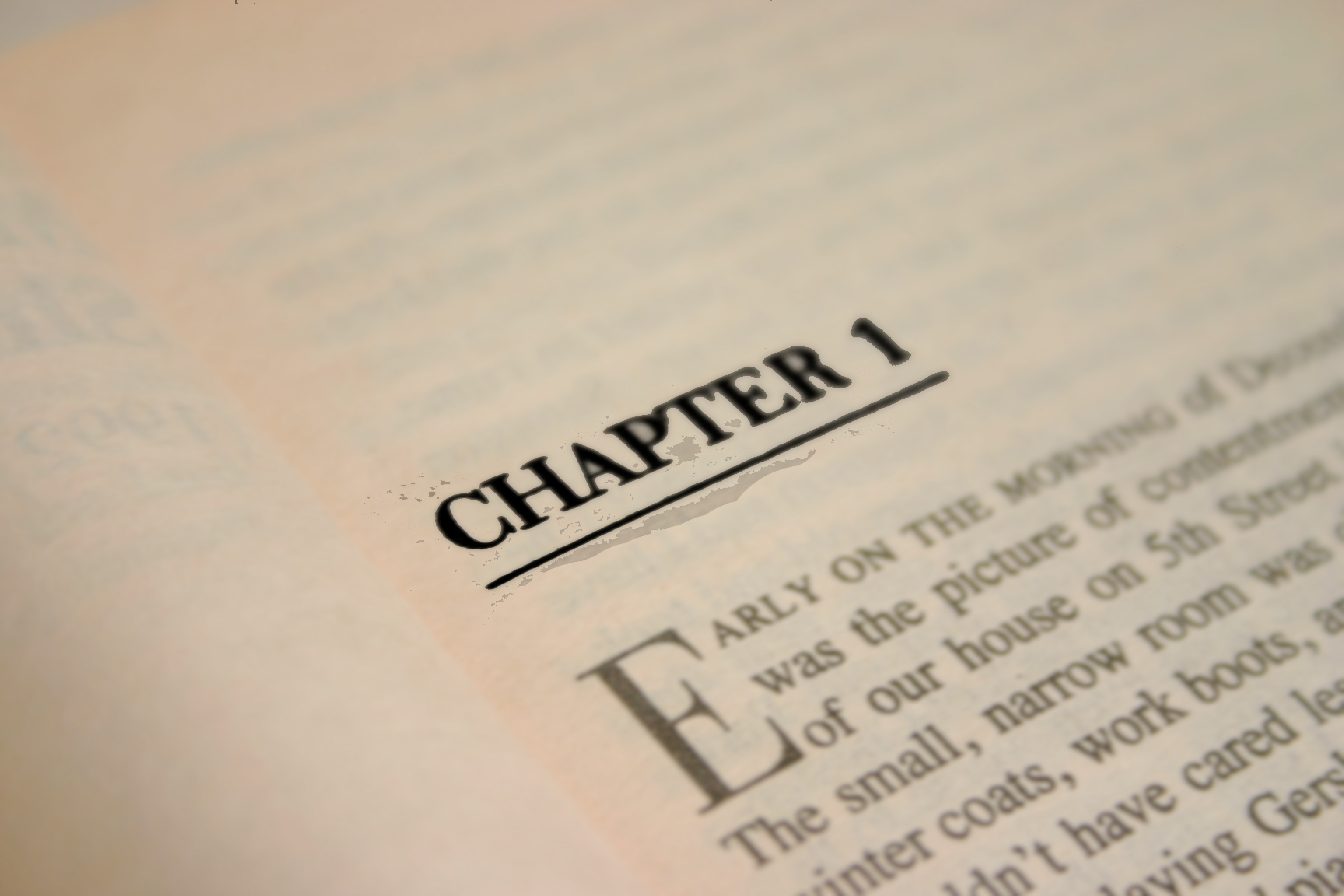How to Start a Novel Right: 5 Great Tips