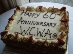 West Country Writers' Association 60th Anniversary Cake