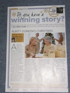 Prima December 2012 Winning Story