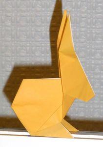 NaNoWriMo Origami Bunny