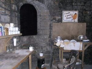 Cardiff Castle Wartime Shelter