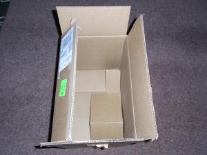 Empty Createspace box