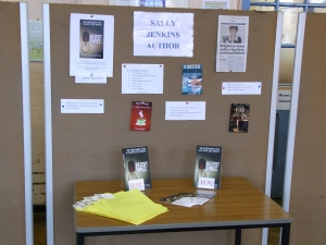 Sally Jenkins Author Stand