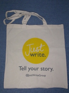 Just Write Tote Bag
