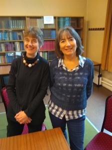 Sally Jenkins & Julia Thorley